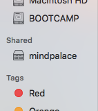Properly cased server name in Finder sidebar